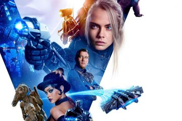"Affiche du film ""Valerian and the City of a Thousand Planets"""